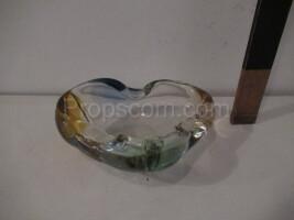 Ashtray, metallurgical glass