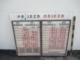 Information board