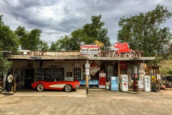 Car service, gas station