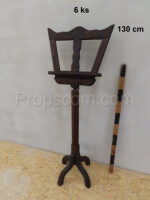 Music stand carved