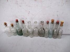Narrow-necked medicine bottles