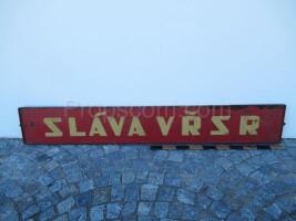 Metal sign - Glory of the VŘSR