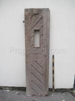 left part of the door brown