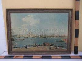 image of a harbor