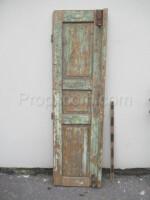 left part of the green door