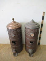 Containers for loose mixtures of coffee, etc.