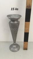 Metal vases