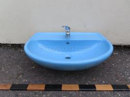 Washbasin blue