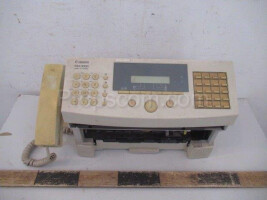 Office telephone with fax