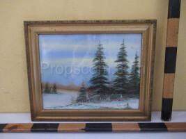 Landscape image of spruce