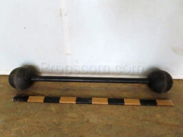 Two-handed dumbbell