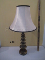Lamps brass fabric