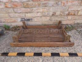 Stackable wooden mat