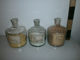 Large bottles with ground-glass joint
