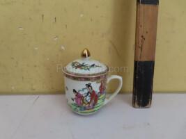 Mug with an Asian motif