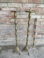 Pair of brass pairs