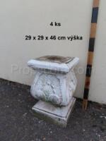 Pedestal under a flowerpot