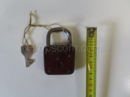 Lock with a small key