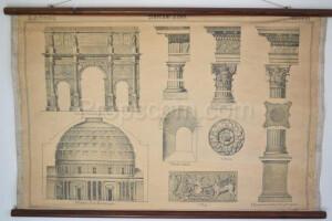 School poster - Building styles