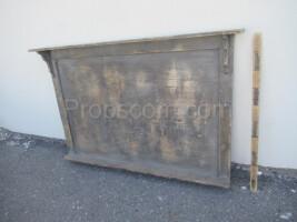 advertising board wooden