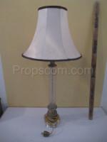 Lamp glass fabric white