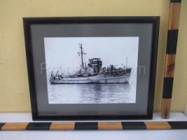 An image of a battleship