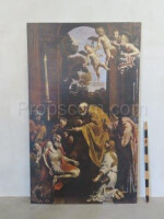 Image capture of Christ print