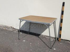 Folding garden table