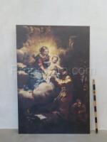 An image of Santa Claus print