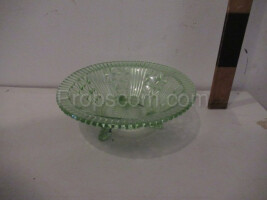Bowl of pressed glass