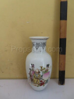 Vase with a Chinese motif