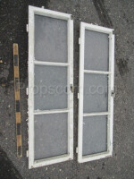 wooden shutters white left