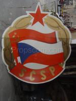 emblem of the union of Czechoslovak-Soviet friendship