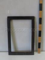 Dark brown frame