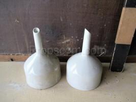 Porcelain funnels