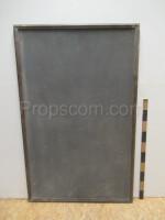 Gray notice board