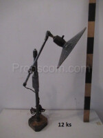 Lamps with khaki metal joint