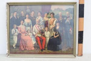 Photograph of František Josef with his family