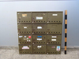 Mailboxes green