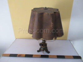 very old table lamp