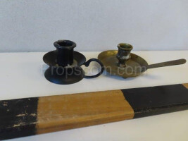 Small table candlesticks