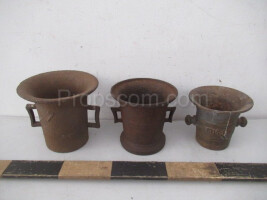 Iron mortars