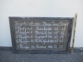 advertising banner - board