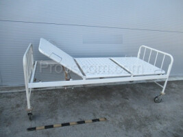 iron adjustable rolling bed