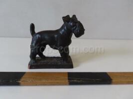 Fox terrier paperweight