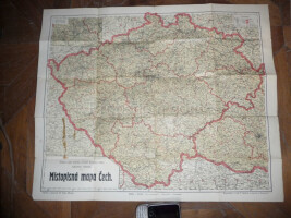 Map of Bohemia